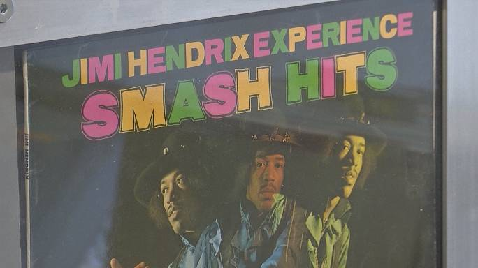 Jimi Hendrix's London flat opens to the public