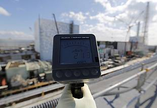 Radiation levels tested in Fukushima