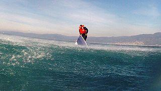 ماموریت نجات در دریای اژه