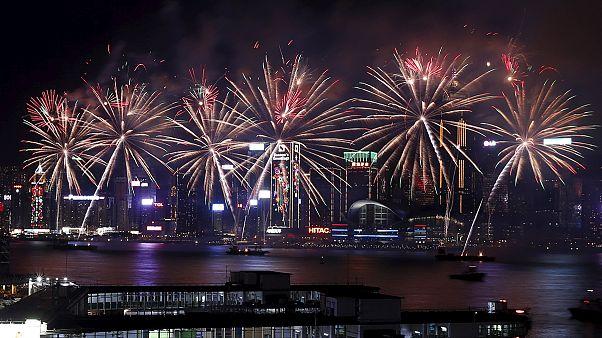 L'année du singe célébrée à Hong Kong