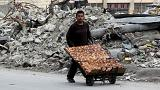 Syrian monitoring group says at least 500 killed in Aleppo offensive