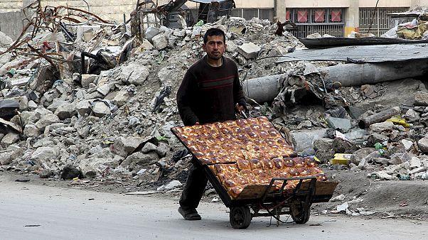 Legkevesebb 100 civil áldozat az aleppói csatában