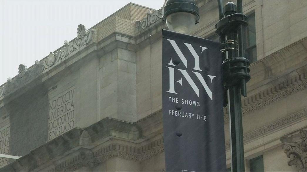Nova Iorque preparada para a semana da moda