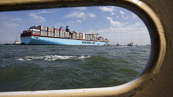 افت شدید سود شرکت مولر-مرسک