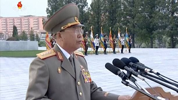 North Korea 'executes' army chief, Seoul reports
