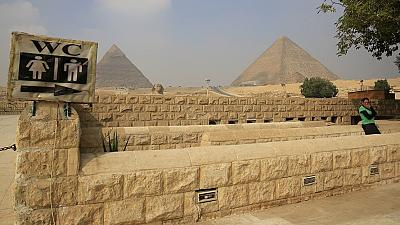 Egypt's pyramids experiencing low patronage