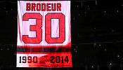 Goaltending legend Brodeur's New Devils shirt retired