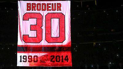 New Jersey Devils verabschieden Martin Brodeur