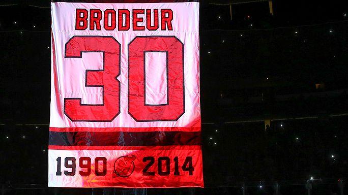 New Jersey retire le maillot de Martin Brodeur