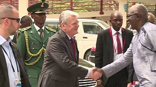 German President Joachim Gauck on a 4-day visit to Nigeria