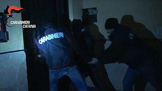 Lecsaptak a szicíliai maffiózókra