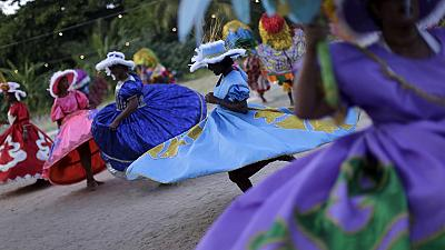 Rio Carnival: Afro-Brazilian percussion group celebrate their heritage