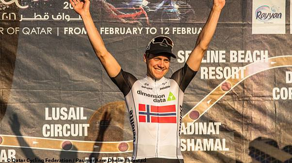 Ciclismo, Tour of Qatar: a Boasson Hagen crono e maglia gialla
