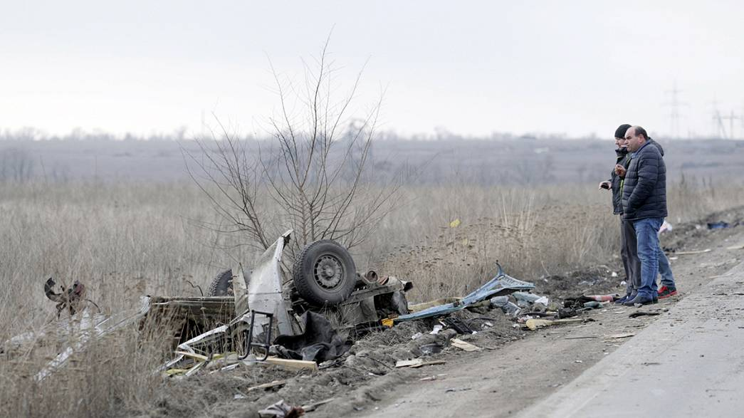 Ucrânia: Mina anti-tanque vitima 4 civis nos arredores de Donetsk