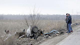 Kiújultak az összecsapások a kelet-ukrajnai fronton
