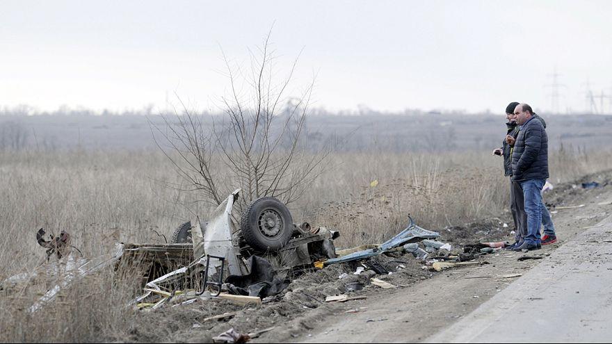 Ukrayna'da bir yıllık ateşkese rağmen kan akmaya devam ediyor