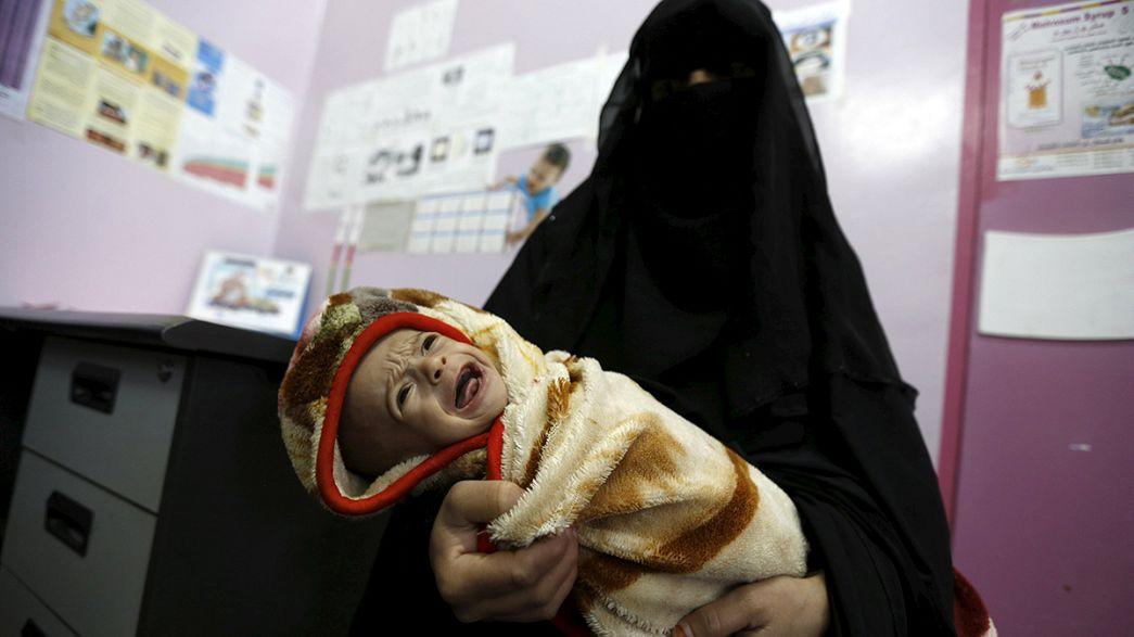 La guerra civil en Yemen causa una de las peores crisis humanitarias en el mundo