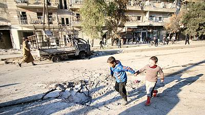 Rusia propone una tregua en Siria a partir del 1 de marzo, según Reuters