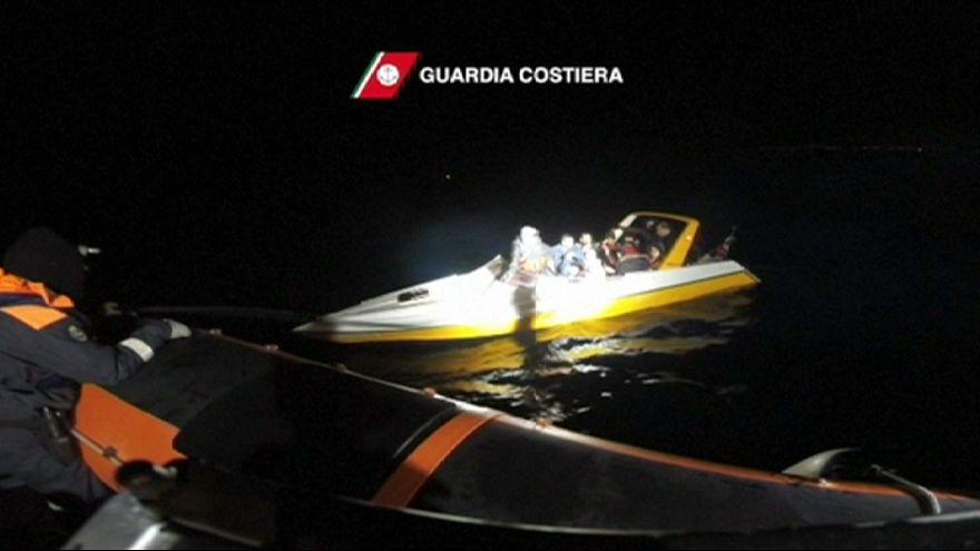 انقاذ 91 مهاجرا قبالة جزيرة ساموس اليونانية