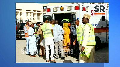 Two female suicide bombers kill over 60 in Nigeria