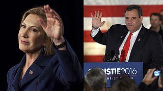 Usa 2016, i repubblicani Christie e Fiorina gettano la spugna