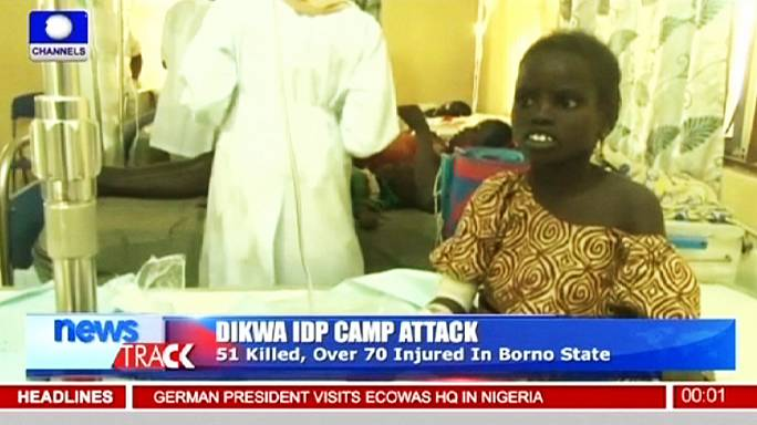 """السلطات النيجيرية الانتحارية : """"لم تفجر نفسها"""" لأن والديها كانا في المخيم"""