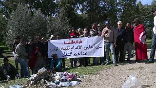 Sixty Tunisians marched 400km in demand for jobs