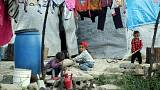 Humanitárius katasztrófa fenyeget a szíriai-török határnál