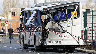 Fransa'da okul servisi kaza yaptı: 6 ölü