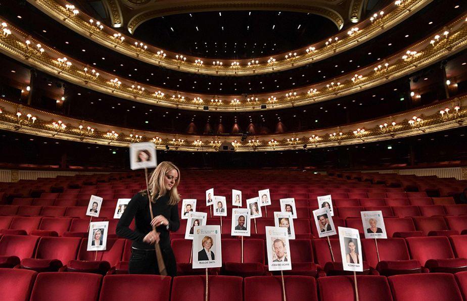 Tu es assis où, aux BAFTA ?