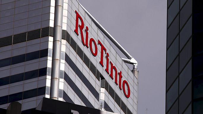 Rio Tinto anuncia pérdidas anuales por la caída de los precios del hierro y el cobre