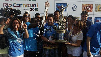 Carnaval de Rio : l'école samba Mangueira décroche son 18e titre de champion