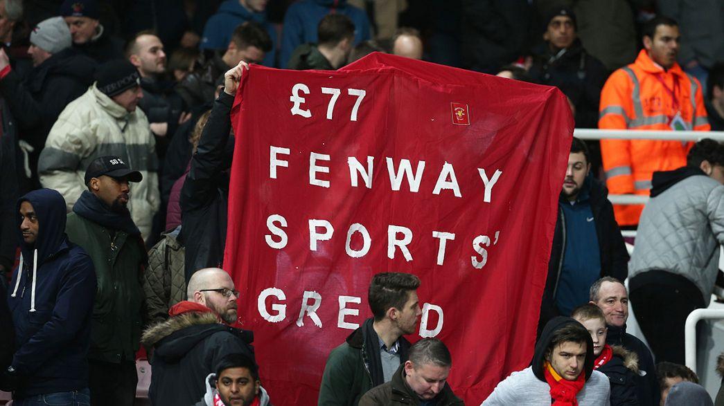 Keine Eintrittspreiserhöhung: Protest der Liverpool-Fans erfolgreich