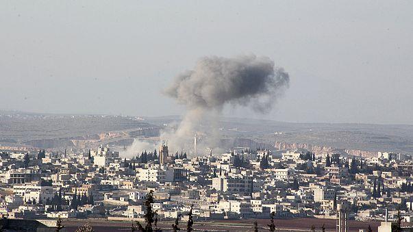 Rusia revela imágenes de bombardeos en Alepo