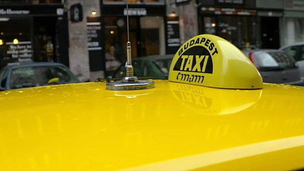 Taxifahrer in Budapest setzen sich für Bitcoins in Bewegung