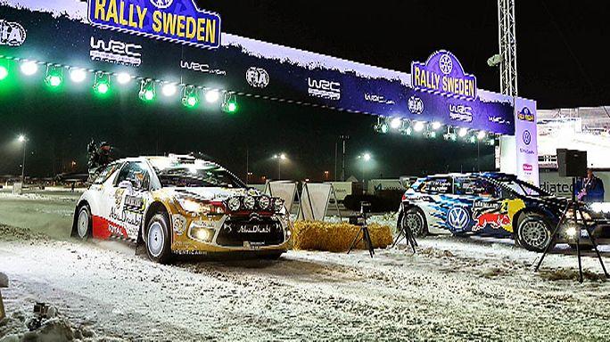 Na Suécia não há neve mas há rali