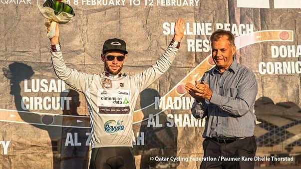 Cavendish aproveita furo de Boasson Hagen para regressar ao topo