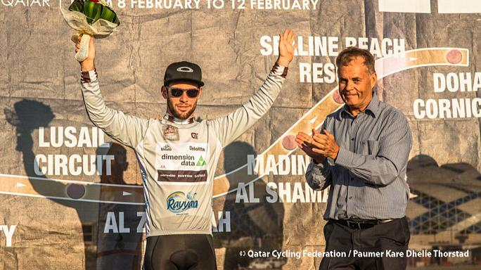 Cavendish regains overall Tour of Qatar lead ahead of final stage