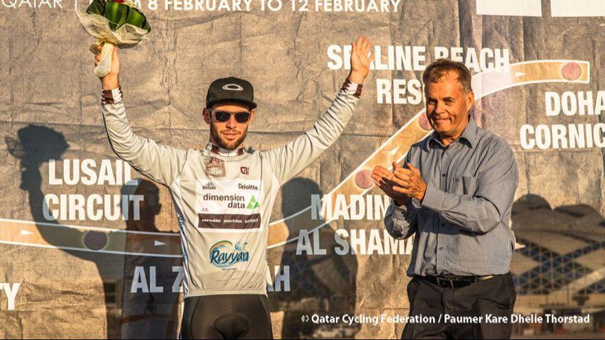 Mark Cavendish recupera el liderato del Tour de Catar en la penúltima jornada