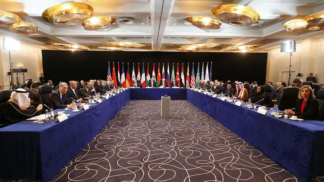 Lawrow und Kerry wollen Friedensverhandlungen für Syrien anschieben