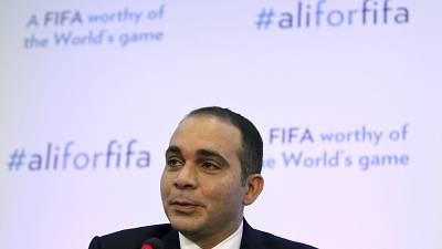Prince Ali warns FIFA will be 'held hostage' unless he wins election