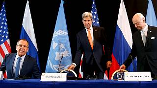 توافق جهانی بر سر آتش بس هفته آینده در سوریه