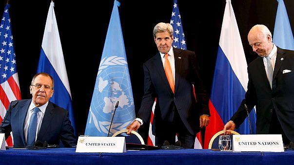 Suriye'de bir hafta içinde çatışmaların durdurulması kararı alındı