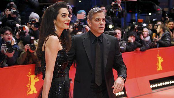 انطلاق الدورة ال 66 من مهرجان برلين السينمائي بحضور جورج كلوني