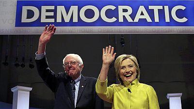 EUA: Debate afiado entre democratas Clinton e Sanders