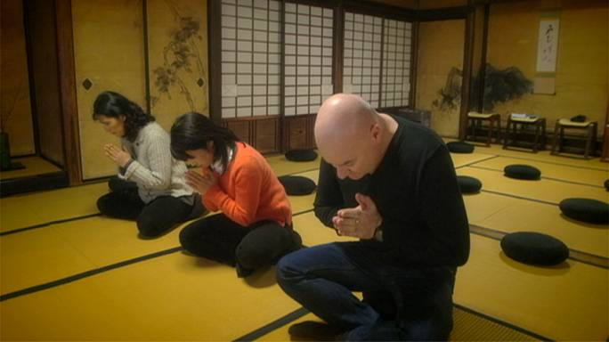 Postcards from Japan: Meditation in a Kyoto temple