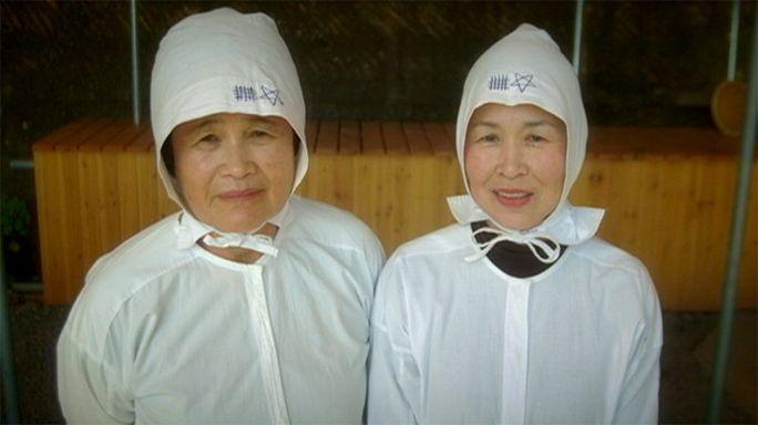Japán: tradicionális ama női búvárok