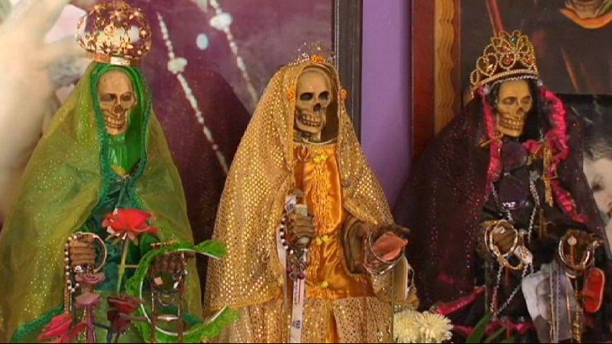 Meksika'da Santa Muerte'ya inananların sayısı artıyor