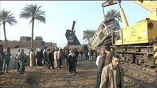 Egypt train crash leaves more than 100 injured