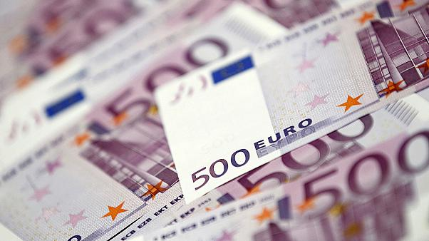 الأوراق النقدية من فئة الخمسماية يورو قد تلغى من التداول.